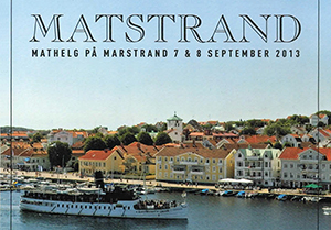 Matstrand i Marstrand, 7-8 september