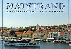 Läs mer om artikeln Matstrand i Marstrand, 7-8 september
