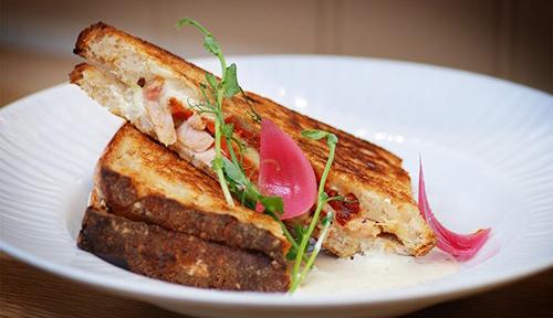 Grillad Bjärekyckling-sandwich