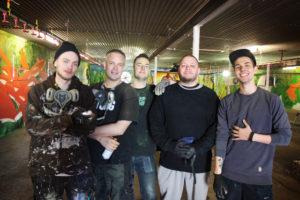Reportage om graffitiprojektet