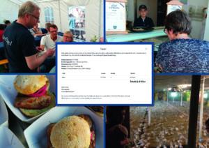 Besökarna på Öppen gård skänkte 2 418 kr till Barncancerfonden!