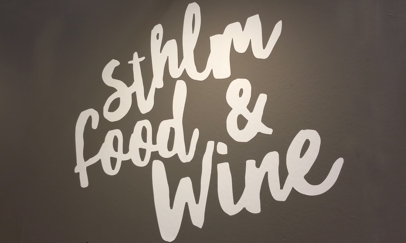 Sthlm Food & Wine, 9-12 november