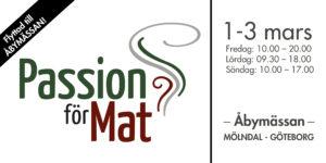 Passion för mat, 1-3 mars, Göteborg