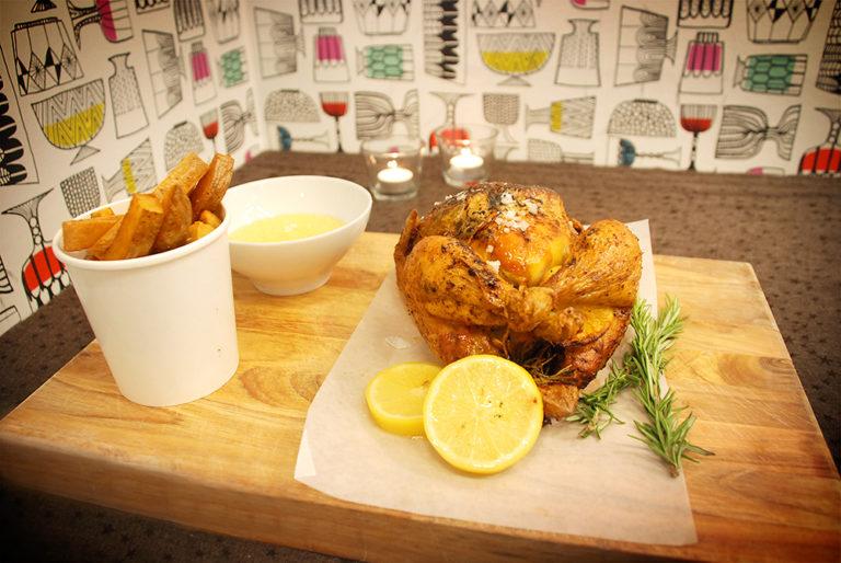 Read more about the article Grillad kyckling fylld med gravad citron och rosmarin