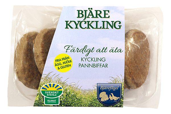 Bjarefagel_Kyckling pannbiffar, kfp